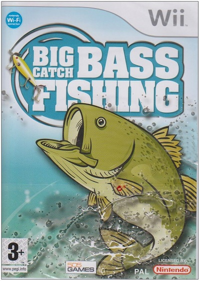 Nintendo Big Catch Bass Fishing Refurbished Nintendo Wii Game