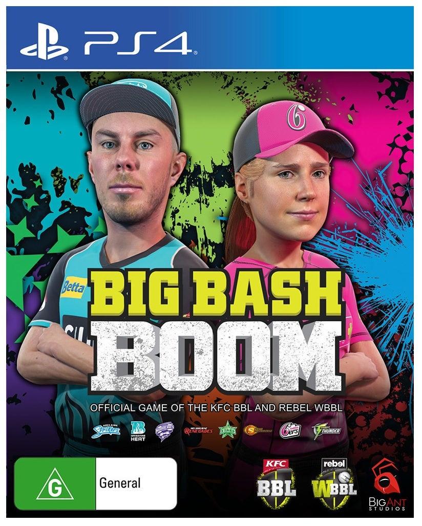 Big Ant Studios Big Bash Boom PS4 Playstation 4 Game