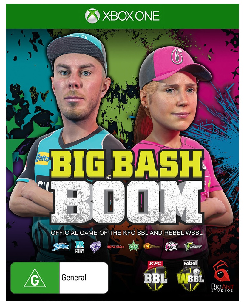 Big Ant Studios Big Bash Boom Xbox One Game