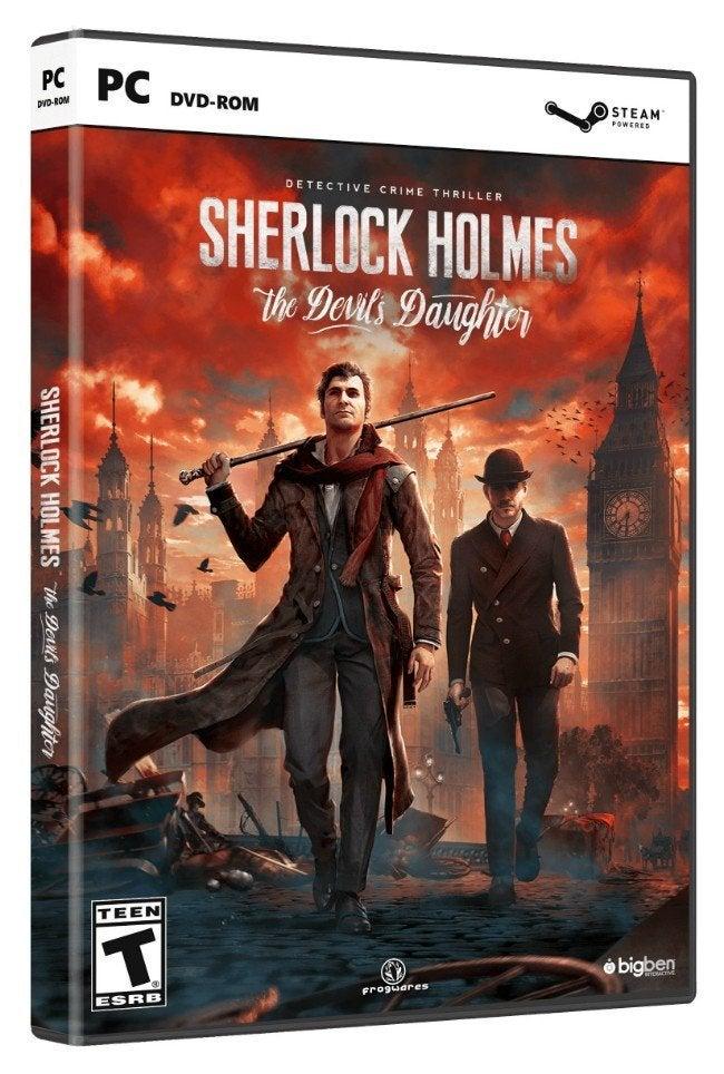 Bigben Interactive Sherlock Holmes The Devils Daughter PC Game