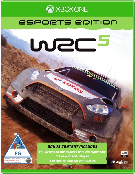 Bigben Interactive WRC 5 Esports Edition Xbox One Game
