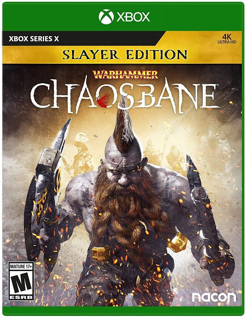Bigben Interactive Warhammer Chaosbane Slayer Edition Xbox Series X Game