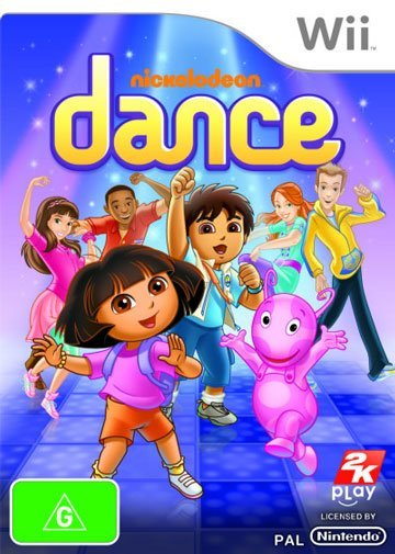 2k Games Nickelodeon Dance Nintendo Wii Game