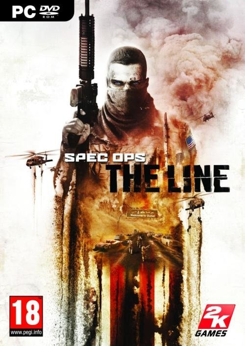 2k Games Spec Ops The Line PC Game