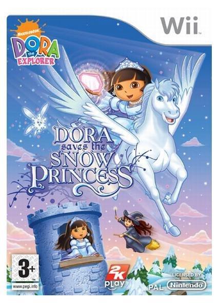 wii dora saves the snow princess
