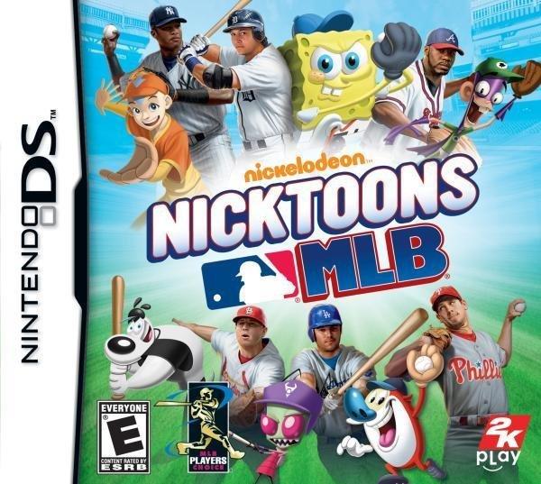 2k Play Nicktoons MLB Nintendo DS