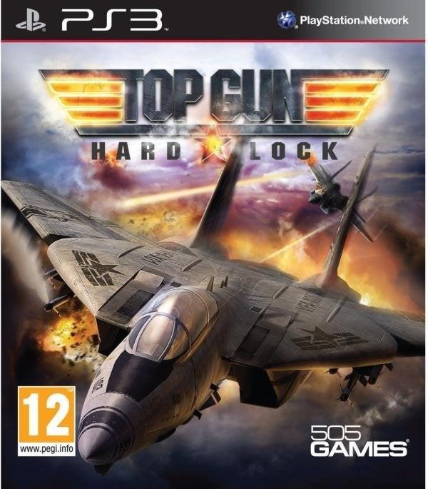 505 Games Top Gun Hard Lock PS3 Playstation 3 Game