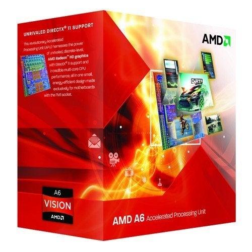 AMD A6-3500 AD3500OJGXBOX 2.1GHz Processor