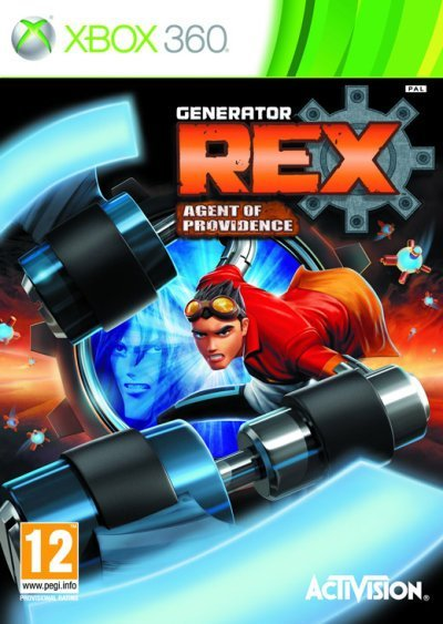 Activision Generator Rex Agent of Providence Xbox 360 Game