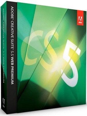 Adobe CS5.5 Web Premium Education Win Graphics Software
