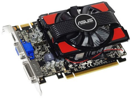 Asus Geforce GTS450 DDR3 1GB Graphics Card