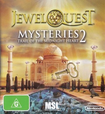 Avanquest Software Jewel Quest Mysteries 2 Nintendo DS Game