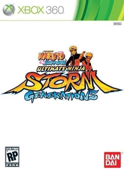 Bandai Naruto Shippuden Ultimate Ninja Storm Generations Xbox 360 Game