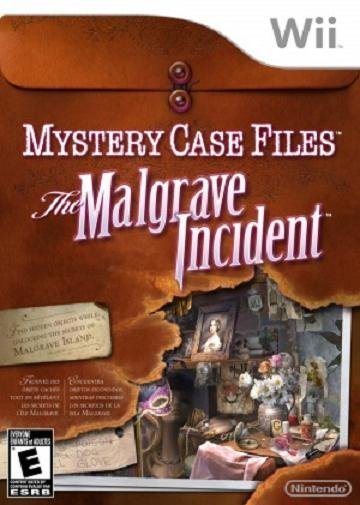 Big Fish Games Mystery Case Files The Malgrave Incident Nintendo Wii Game