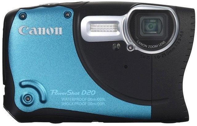 Canon PowerShot D20 Digital Camera