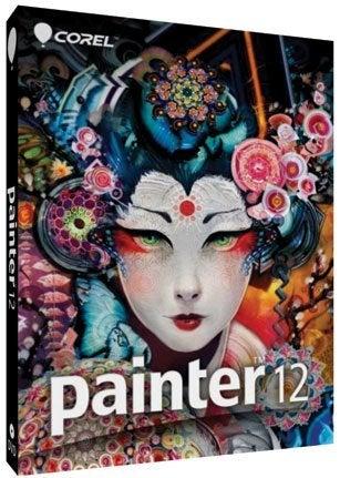 Corel Painter 12 Upgrade Graphics Software