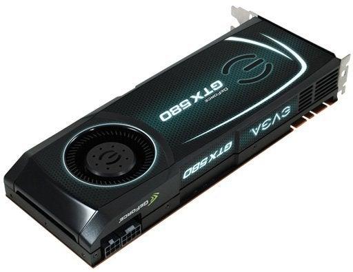 EVGA GeForce GTX 580 3GB Graphics Card