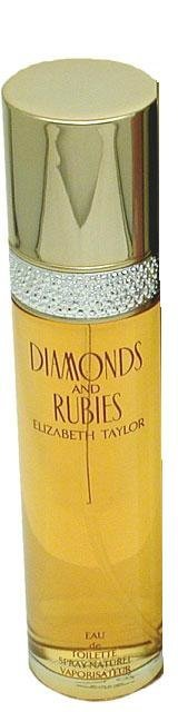 Elizabeth Taylor Diamonds And Rubies 100ml EDT Women's Perfume