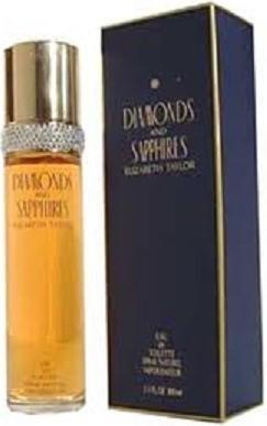 Elizabeth Taylor Diamonds And Sapphires 50ml EDT Women's Perfume