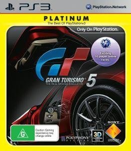 Sony Gran Turismo 5 Platinum PS3 Playstation 3 Game