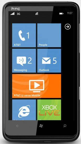 HTC HD7S Mobile Phone