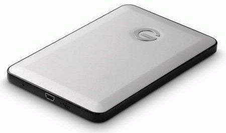 Hitachi G-DRIVE Slim 500GB External Hard Drive
