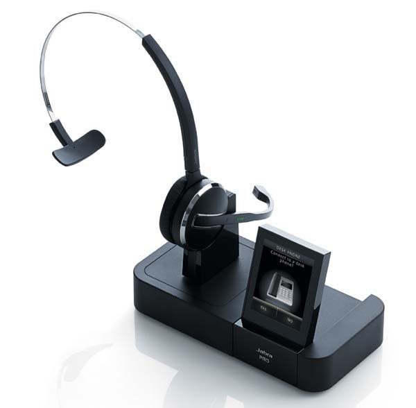 Jabra PRO 9470 With Lifter Bluetooth Head Phones