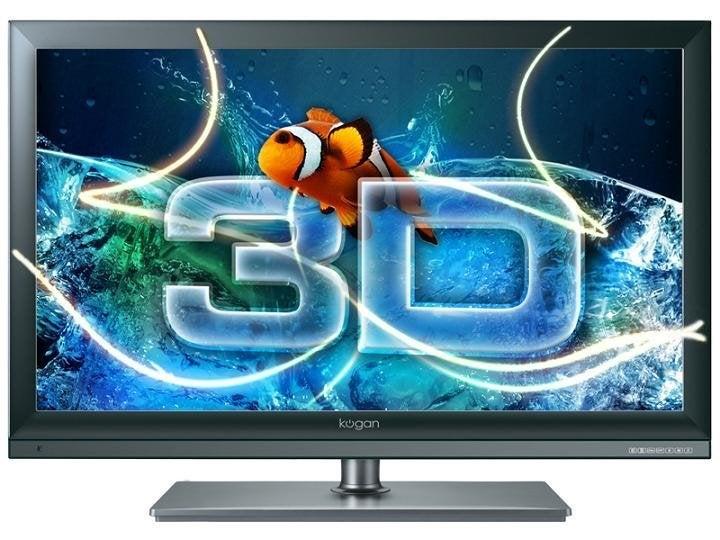 Kogan KALED553D1AB 55inch Built-in PVR Full HD 3D LED TV