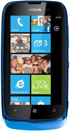 Nokia Lumia 610 Mobile Phone