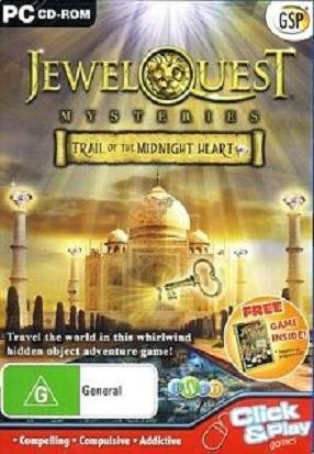 iWin Jewel Quest Mysteries Trail of the Midnight Heart PC Game