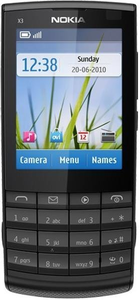Nokia X3-02 Mobile Cell Phone