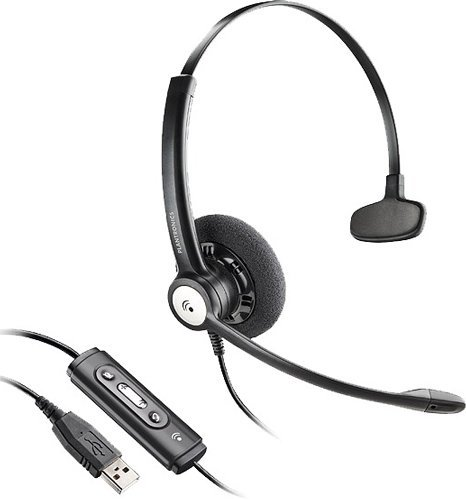 Plantronics Blackwire C610-M Head Phones