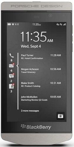 BlackBerry Porsche Design P9982 Mobile Cell Phone