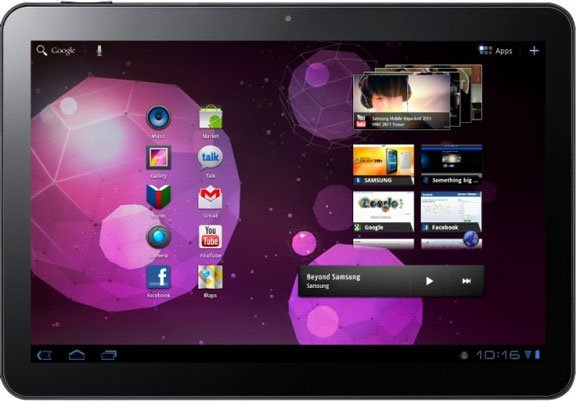 Samsung Galaxy Tab 10.1 16GB Wi-Fi + 3G Tablet