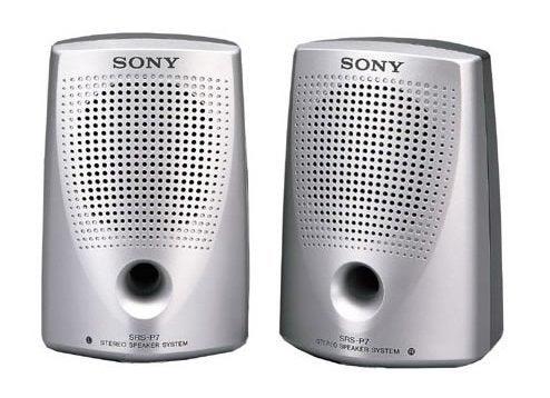 Sony SRSP7 Speakers