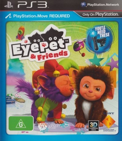 Sony Eyepet and Friends PS3 Playstation 3 Game