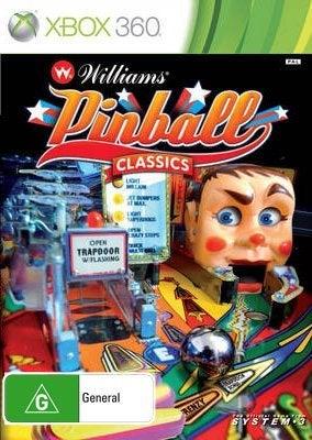 System 3 Williams Pinball Classics Xbox 360 Game