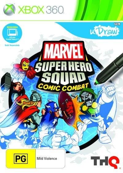 THQ Marvel Super Hero Squad Comic Combat Xbox 360 Game