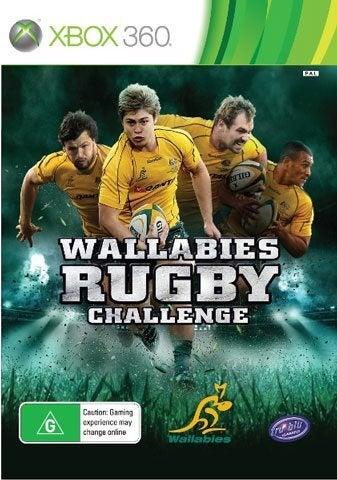 Tru Blu Entertainment Wallabies Rugby Challenge Xbox 360 Game