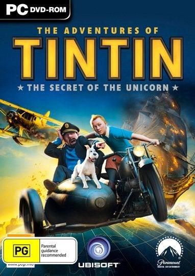 Ubisoft Adventures of Tintin The Secret of the Unicorn PC Game