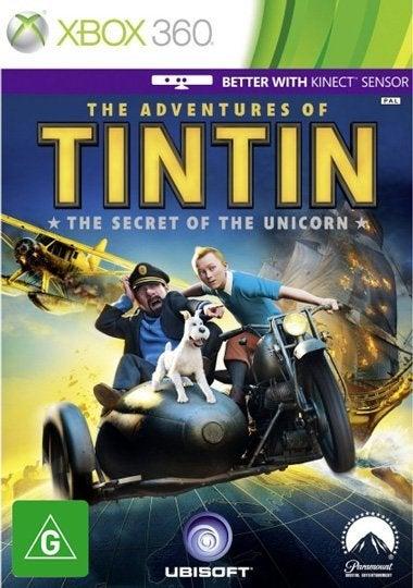 Ubisoft Adventures of Tintin The Secret of the Unicorn Xbox 360 Game