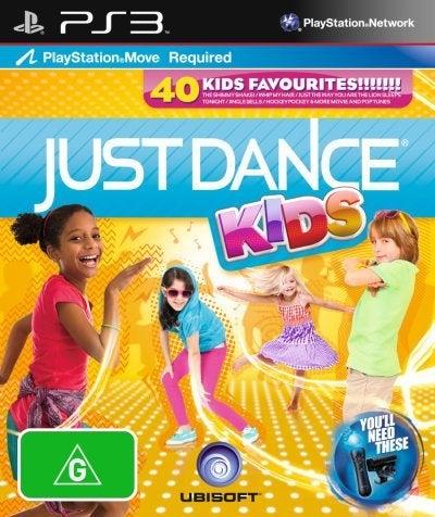 Ubisoft Just Dance Kids PS3 Playstation 3 Game