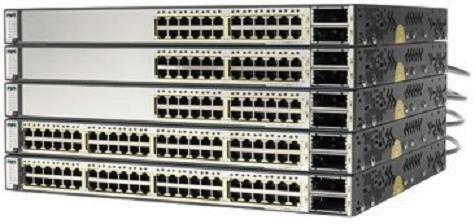 Cisco WS-C3750E-24TD-E Networking Switch