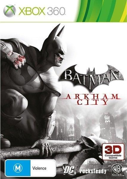 Warner Bros Batman Arkham City Xbox 360 Game