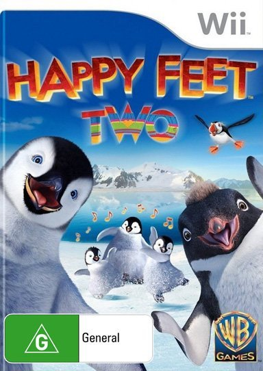 Warner Bros Happy Feet Two Nintendo Wii Game