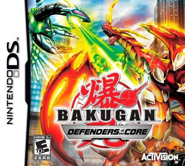 Activision Bakugan Battle Brawlers Defender Of The Core Nintendo DS Game