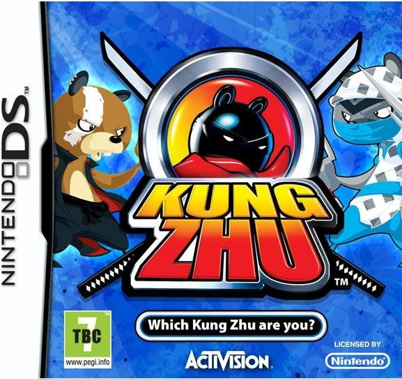 Activision Kung Zhu Nintendo DS Game