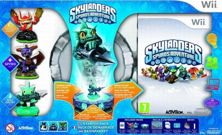 Activision Skylanders Spyros Adventure Starter Pack Nintendo Wii Game