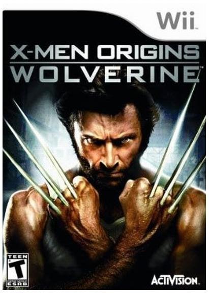 Activision XMen Origins Wolverine Nintendo Wii Game