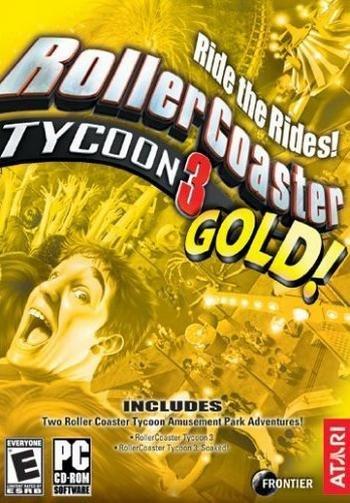 Atari Rollercoaster Tycoon 3 Gold PC Game